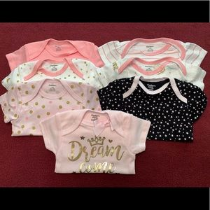 Baby Girl Princess Bodysuit Bundle